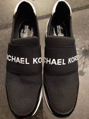 Michael Kors Wysokie trampki czarny