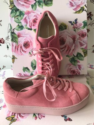 Vagabond High Top Sneaker pink-light pink leather