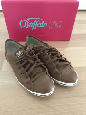 Buffalo girl Lace-Up Sneaker brown