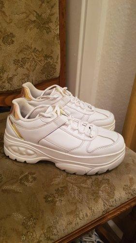 -8- Venice Sneakers met hak wit