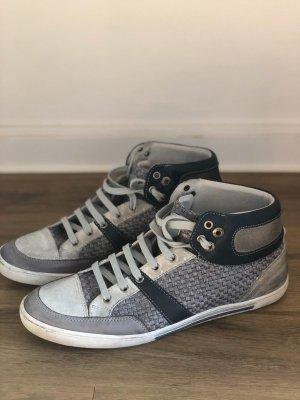 Antony Morato Basket montante gris-bleu foncé