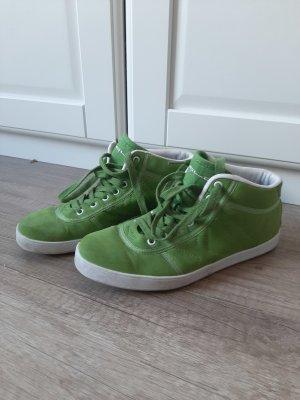 Graceland High Top Sneaker grass green