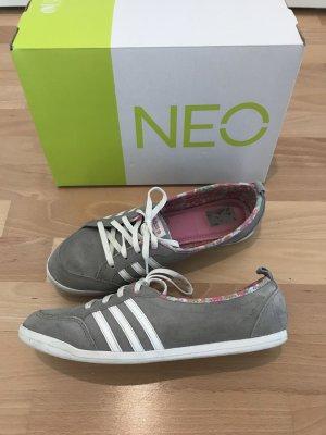 Adidas NEO Zapatilla brogue gris claro