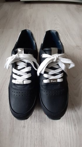 Tom Tailor Denim Lace-Up Sneaker multicolored