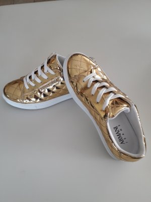 Armani Jeans Basket à lacet doré