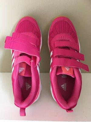 Adidas Basket hook-and-loop fastener rose