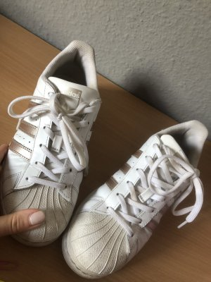 Adidas Lace-Up Sneaker white-rose-gold-coloured