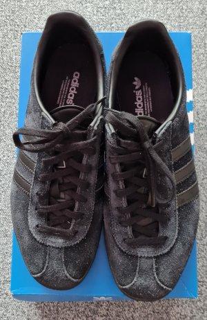 Sneaker adidas Leder schwarz glitzer Größe 38