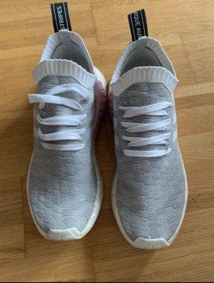 Sneaker adidas originals NMD_R2 PK Rosa weiß grau (Gr.40)