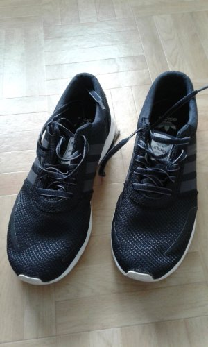 Sneaker Adidas schwarz/weiß Gr. 38 2/3