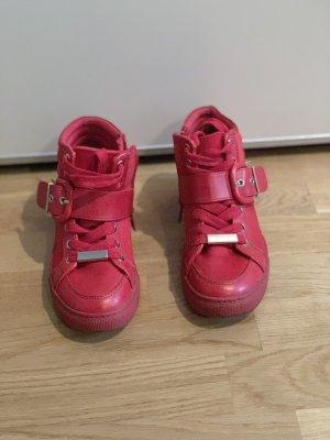 Aldo Zapatillas altas rojo-color oro