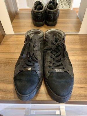 ara Sneaker alta nero