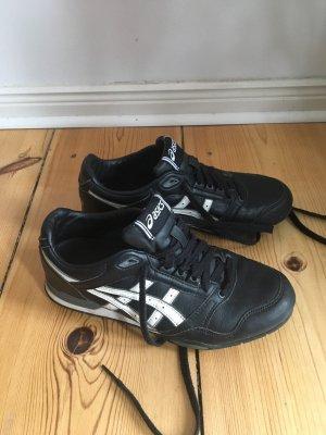 Asics Sneakers met veters zwart-wit