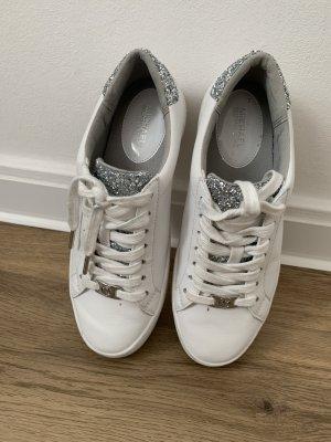 Michael Kors Sneaker stringata bianco-grigio chiaro