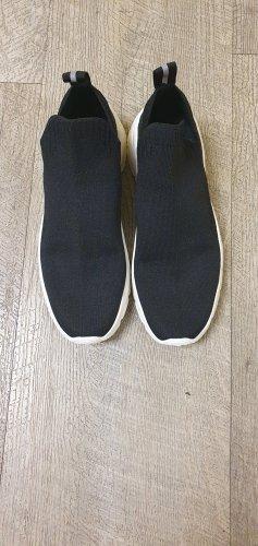 H&M Instapsneakers wit-zwart