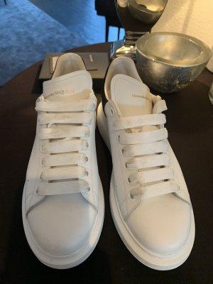 Alexander McQueen Instapsneakers wit-zwart