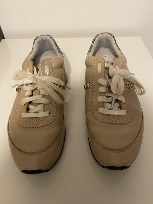 Hugo Boss Lace-Up Sneaker beige