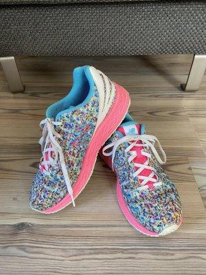 New Balance Sneakers met veters neonroos-lichtblauw