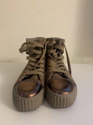 Weide Korte laarzen bruin