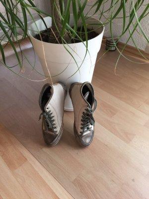Candice Cooper High Top Sneaker oatmeal