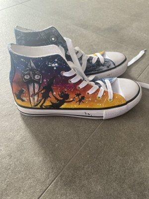 Sneaker Chucks Art costomized Peter Pan
