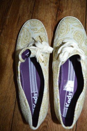 Sneaker Creme Gold Gr. 40 von Keds