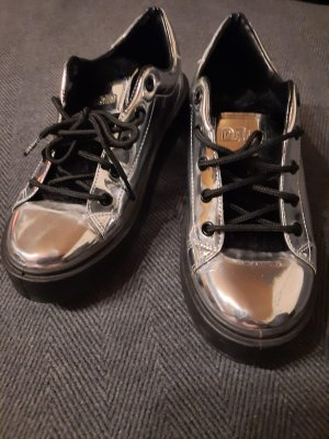 D.Franklin Slip-on Sneakers silver-colored-black