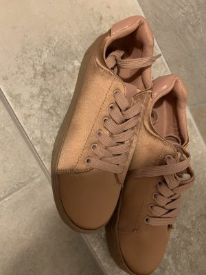 H&M Heel Sneakers rose-gold-coloured
