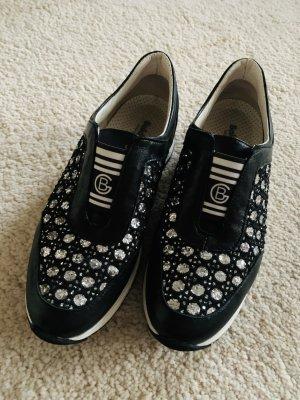 Baldinini Slip-on Sneakers multicolored leather