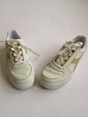 Sneaker diadora pastel mint/gold