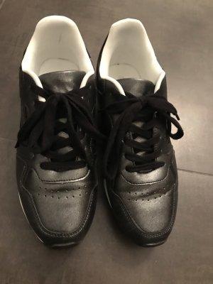 Sneaker Dunlop schwarz metallic Gr. 40 wie neu