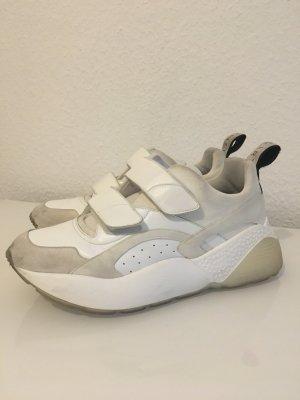 Stella McCartney Zapatillas con velcro blanco-blanco puro Imitación de cuero
