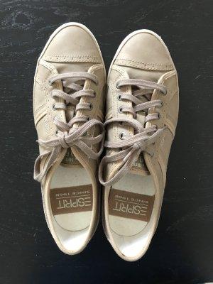 Sneaker Esprit beige 40