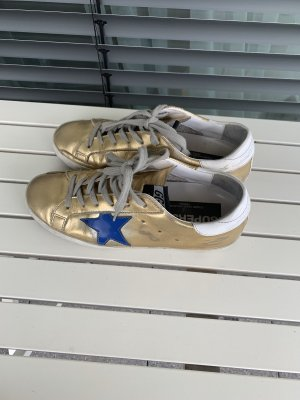 Golden Goose Wedge Sneaker gold-colored