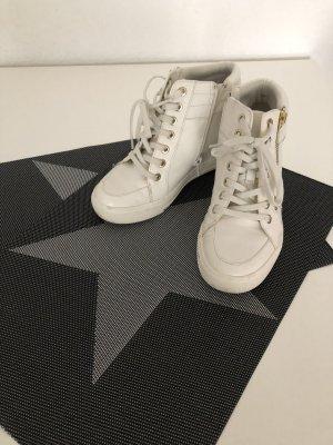 Aldo Sneakers met hak wit