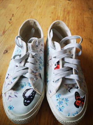 Tamaris Lace-Up Sneaker multicolored satin