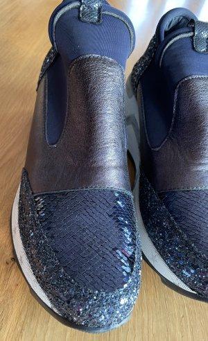 Cetti Sneakersy wciągane niebieski