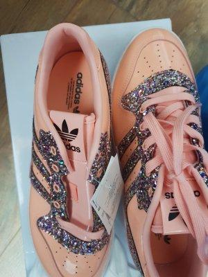 Adidas Basket montante or rose