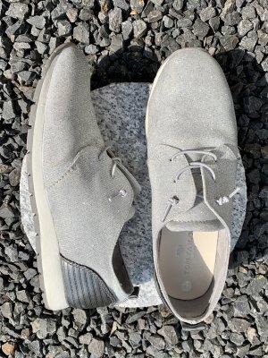 Sneaker Glitzer Silber TomTailor 38