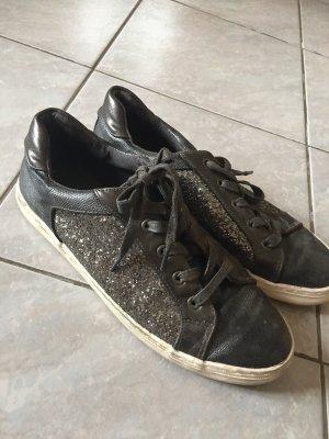 Sneaker Glitzerlook