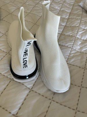 Basket slip-on noir-blanc