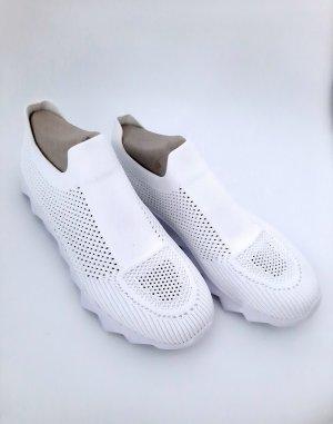 keine Ahnung Slip-on Sneakers white