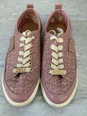 Guess Sneakers met veters roze