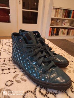 Sneaker halbhoch Lack