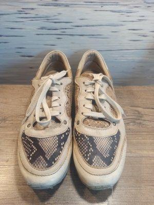 Sneaker Halbschuh Leder Piedi Nudi 1-mal getragen super weiches Leder!