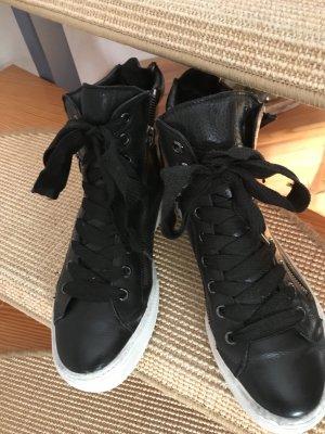 """Sneaker """"Högl""""  Gr. 37 schwarz Leder"""