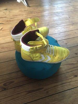 Hummel Zapatillas con velcro amarillo
