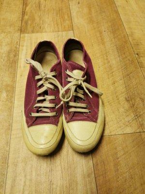 Sneaker-im-Retro-look-Leder-baumwolle-Gr-38-