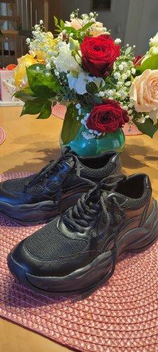 chillegs Sneakers met veters zwart