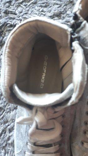 One of a kind Zapatillas altas blanco Cuero